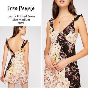 843f404ce091 FREE PEOPLE | Lauria Floral Slip Mini Dress | NWT